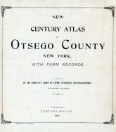 Title Page, Otsego County 1903